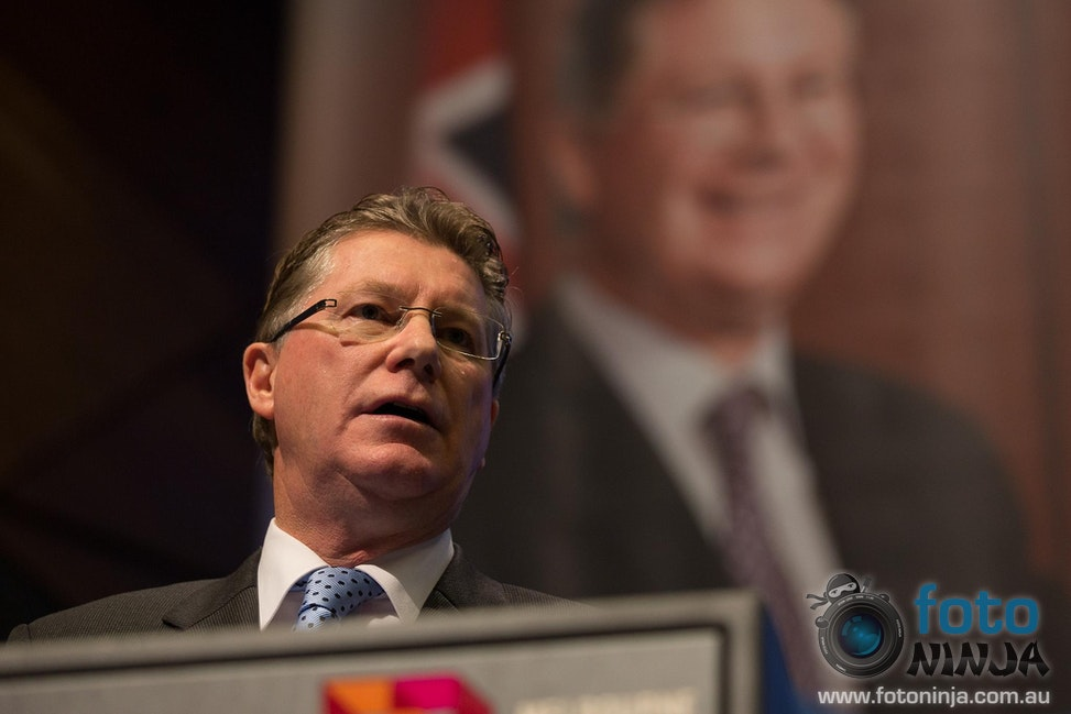 Dr Denis Napthine - Premier of Victoria Dr Denis Napthine delivering a speech at the Liberal Party of Australia Victorian Division State Council 2013 (Image#...