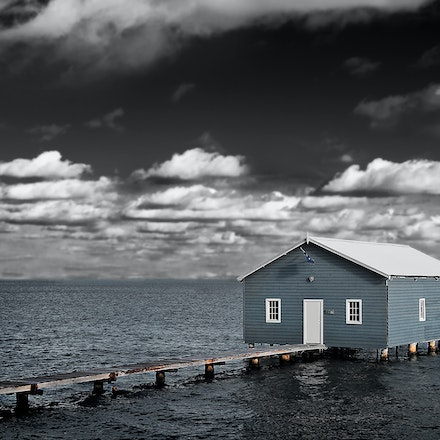 The Boat Shed - A boat shed on the Swan River, Perth, Western Australia.