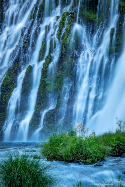 Flowing Veils, Burney Falls