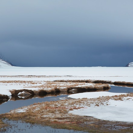 An approaching storm near Siglufjördur - Akureyri & North