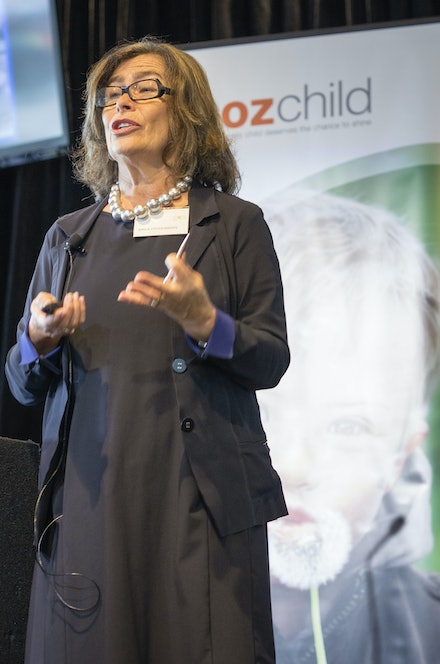 OzChild - Keynote speaker at the Oz Child conference at the MCG
