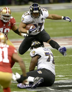 Super Bowl XLVII - Photographs from Super Bowl 47, with the Baltimore Ravens defeating the San Francisco 49'ers 34-31, in the Mercedes Benz Dome in New...