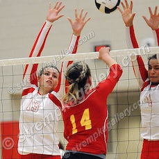 Andrean vs. Crown Point - 9/14/15 - Crown Point was a three set winner over Andrean in Girls' Volleyball on Monday evening (9/14) in Crown Point.  Scores...