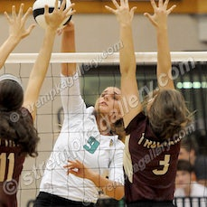 Chesterton vs. Valpo - 9/24/15 - Valpo was a three set winner over Chesterton on Thursday evening (9/24) in Valparaiso.  Scores were:  25-20, 25-15, 25-13...