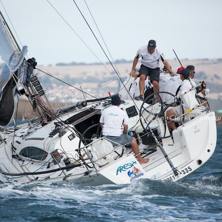 Adelaide - Lincoln Yacht Race Finish
