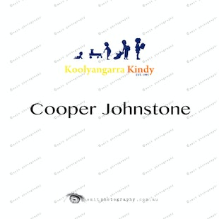 Koolyangarra Kindy -  Cooper Johnstone