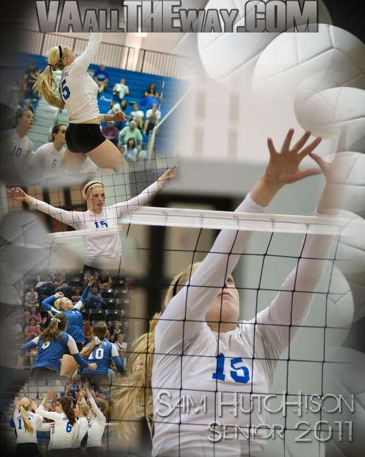 Sam Volleyball 11 poster
