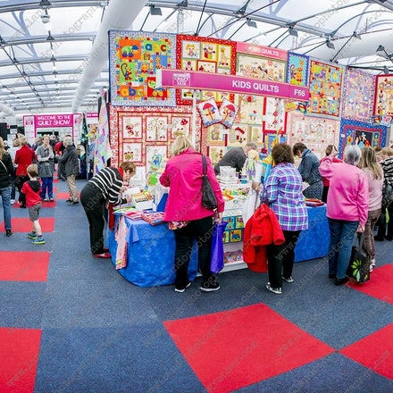Sydney Exibition Center @ Glebe Island - 11th July 2014 - Craft & Quilt fair - Event photography