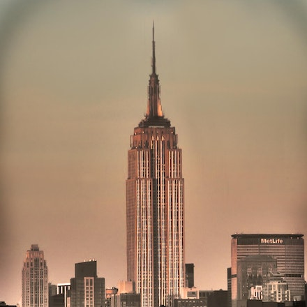 Empire State Building view from Hudson River, New York City - Copyright © 2015 Melissa Fiene Photography. All rights reserved. All images created by Melissa...
