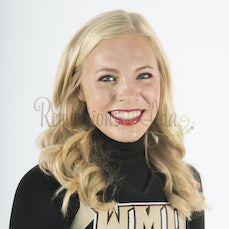 2016-17 WMU Cheer Headshots