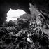 Batemans Bay Cave - Interior of cave looking out to Batemans Bay.