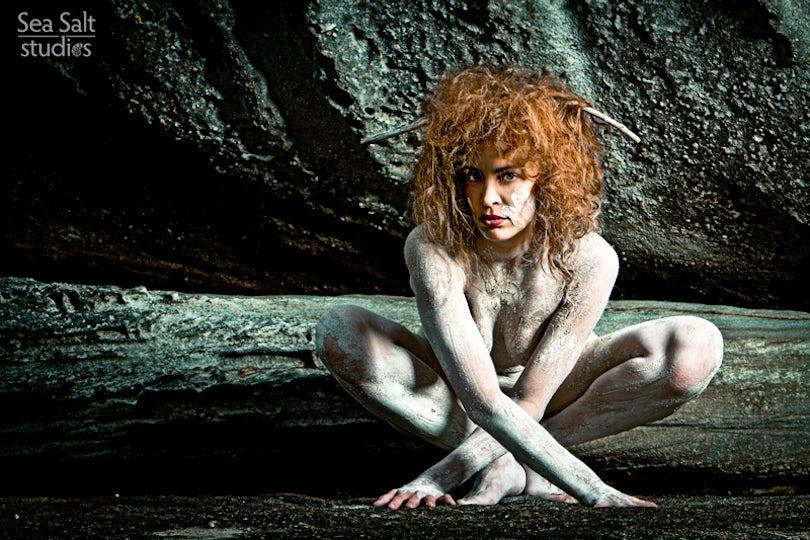 Amazon Cave - Model: Mariene from France Location: Malabar, Sydney