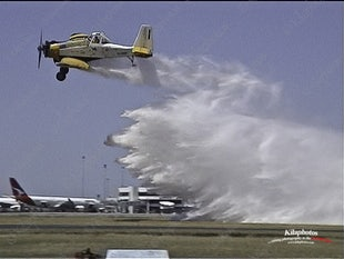 Fire season opening 2003 / 2004 Perth Airport  WA