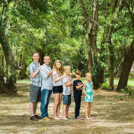 5 - It is important in family portraiture to offer your clients a variety of poses and locations at the one session. Bunya Reserve is ideal for family...