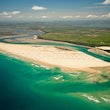 Shallow Inlet Aerials - Aerial images of Shallow Inlet and Sandy Point