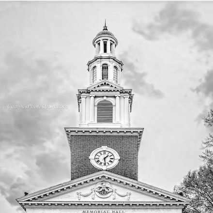 Memorial Hall, the University of Kentucky/Black and White Photo_2436_6732 - Photo by Campus Photos USA. Memorial Hall, located on the college campus of...