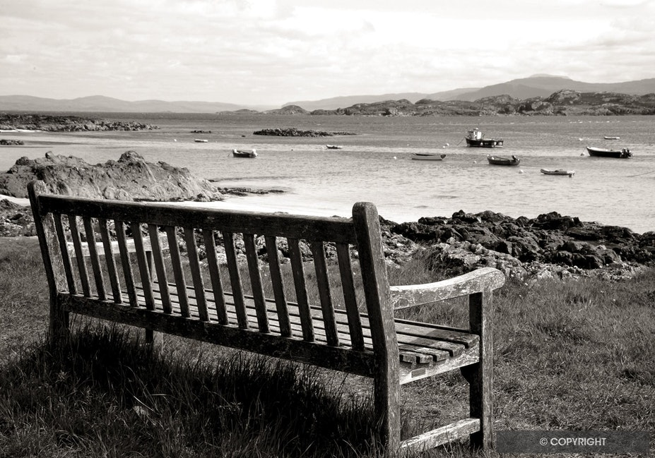 Peaceful View - Iona, Inner Hebrides, Scotland, UK