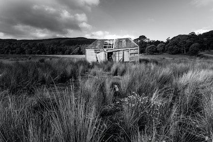 Forgotten - Abandoned shack on Bruny Island, Tasmania
