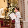 Cathedral 2017 Candids - Candid pictures from First Communion. These include pictures of communicants with their parents, readers, gift bearers, etc. This...
