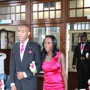 Wilbert and Shirley wedding March,24,2011