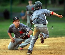 14u Wessex @ Knights - 14-and-under summer baseball: West Essex National 6, West Essex American 4 at Fairfield Rec Complex