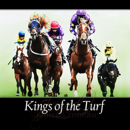 Kings of the Turf - Inspirational wall art to brighten your home or office.