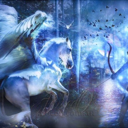 The Dreaming - When the reality of day fades, the  magics of the night bring dreams of other world...
