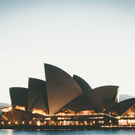Sydney's Sails at Sunrise