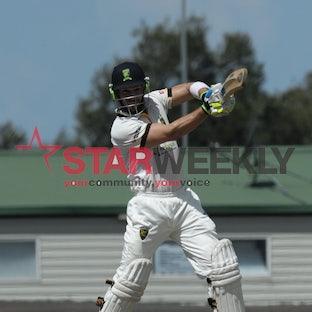 Will Wright and Simon Bray - Plenty Valley cricketers Will Wright and Simon Bray