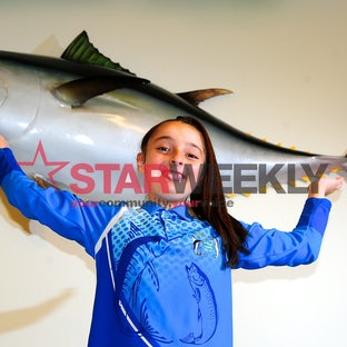 Young Angler Nets Record