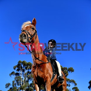 Chloe O'Rourke with her horse Sam - Photos: Damjan Janevski