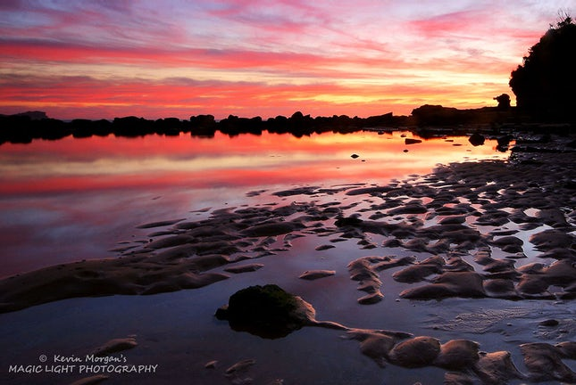 KEVIN MORGAN - Avoca Rock Pool Sunrise 1000