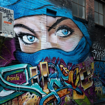 Croft Alley - Woman in Veil