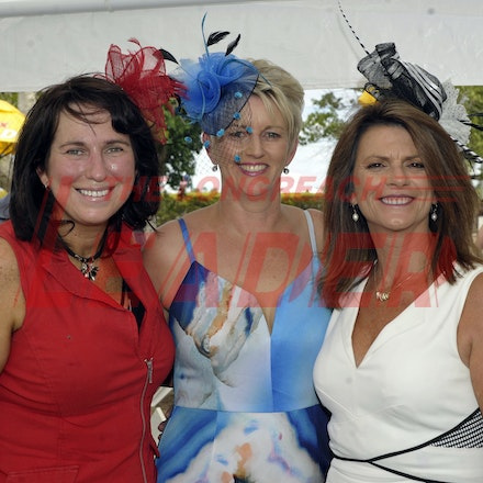 160312_SR29921 - Kellie Leach, Helen galea, Gayle Jones at the Longreach Races, Saturday March 12, 2016.  sr/Photo by Sam Rutherford