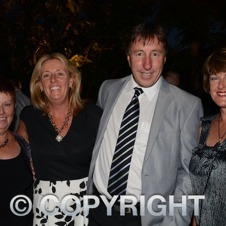 151031_DSC_3952 - Jan Wallace of the Cosmos Centre, Charleville with Raylene and Greg Donovan organisers of the Big Red Bash and Debbie Reid of Travel...