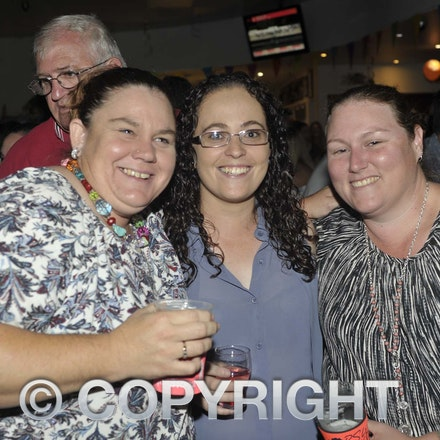 170204_SR27016 - Liz, Courtney and Mai at the Longreach RSL Meet and Greet, Saturday February 4, 2016.   sr/Photo by Sam Rutherford