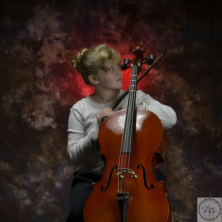 Grace & Her Cello 1