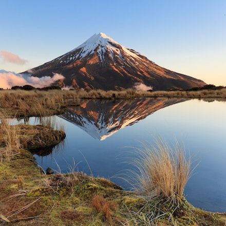 Reflections Mt Taranaki - Reflections pouaki tarn